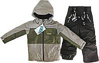 Зимний комплект для мальчика NANO F17 M 263 Mid Grey Mix / Black. Размеры 2 - 12., фото 1