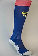 Футбольные гетры Барселона, Nike, Найк, синие, сине-гранатовые, S1720