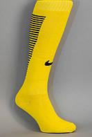 Футбольные гетры NIKE, Найк, желтые, S1734