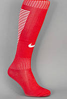 Футбольные гетры NIKE, Найк, красные, S1735
