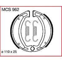 Тормозные колодки барабанные LUCAS MCS962