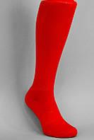 Футбольные гетры, красные, S1754