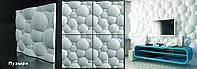 Гипсовая 3D панель сферы