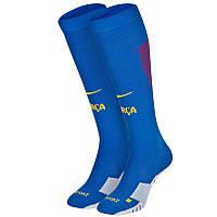 Футбольные гетры Барселона, Barcelona, Найк, Nike, синие, S1731