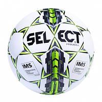 Футбольный мяч SELECT Primera IMS Бел/Сер/Зел