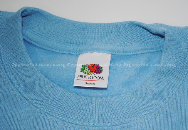Небесно-голубой мужской  классический свитер