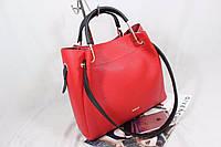 Модная женская сумка  2 в 1  Красный, Синий, Черный, Золото, Серебро