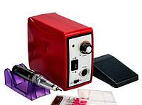 Фрезер для маникюра и педикюра Nail Drill Set ZS-701, 45000 оборотов, 60 Вт, красный