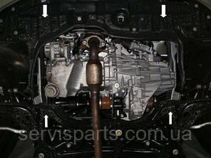 Защита двигателя Toyota Yaris 2011- (Тойота Ярис 3), фото 2