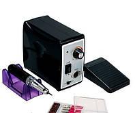 Фрезер для маникюра и педикюра Nail Drill Set ZS-701, 45000 оборотов, 60 Вт, черный
