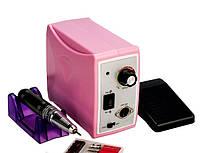 Фрезер для маникюра и педикюра Nail Drill Set ZS-701, 45000 оборотов, 60 Вт, розовый