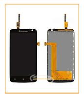 Дисплей  Lenovo S820 с сенсором (тачскрином) Black Original