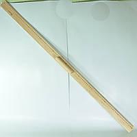 Линейка для доски 100 см деревянная с ручкой