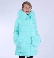 Пальто зимнее KIKO 4560 для девочки 128-140