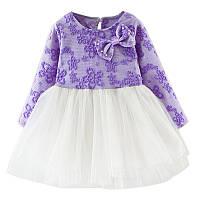 Красивое платье для девочки размер 100.
