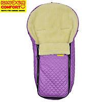Конверт на овчине Kinder Comfort Warm Fashion Rotlila