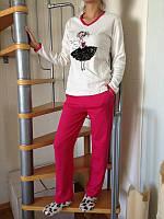 Женская пижама Девочка интерлок, производитель Falkon, TM Fawn. Разные цвета, размеры.
