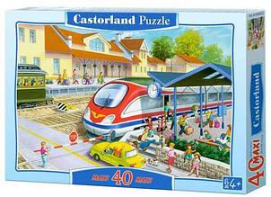 Пазли maxi Залізнична станція Castorland 40 деталей