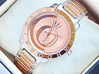 Жіночі годинники Pandora з літерою О на циферблаті, двоколірні, фото 1