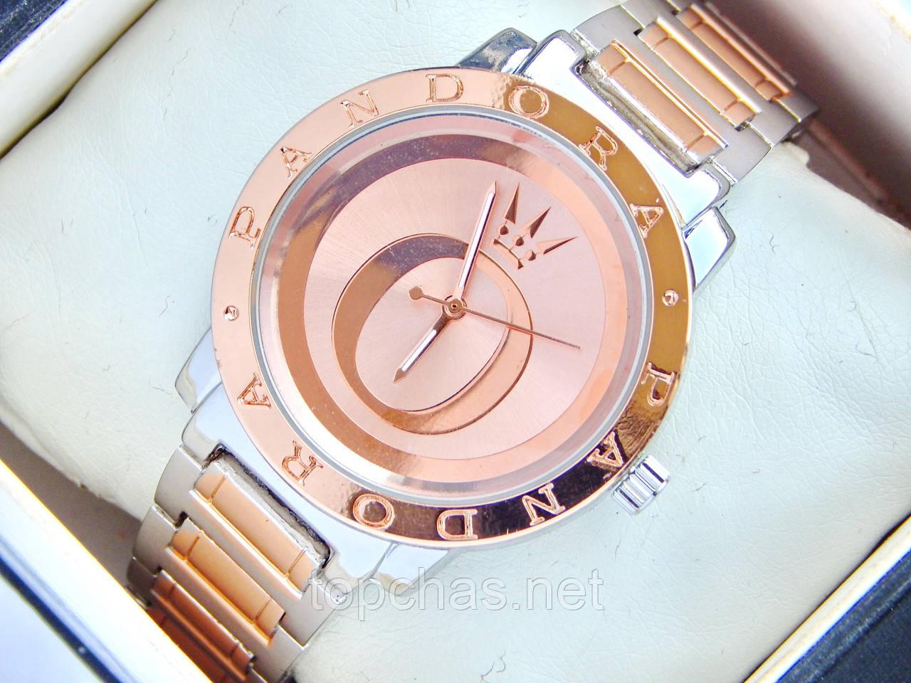 Женские часы Pandora с буквой О на циферблате, двухцветные - Top Chas -  Интернет магазин f1a609fc574