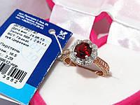 Золотое кольцо с гранатом 80512-ПГР, фото 1