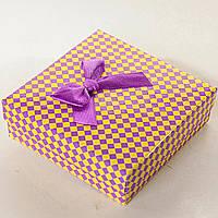 [9/9/3 см] Подарочная коробочка для украшений Алиса в Стране Чудес средняя 12 шт.