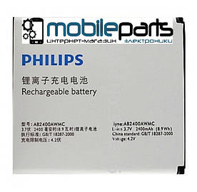 Оригинальный аккумулятор АКБ (Батарея) для Philips W6500 AB2400DAWMC