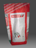 Мешок бумажный для строительных смесей, 2 слоя + пленка, белый верх, 2+0, 600х350х120