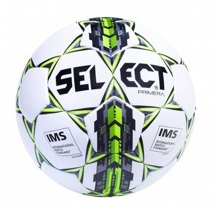 Футбольный мяч SELECT Primera IMS Бел/Сер/Зел, фото 2