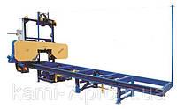 Автоматическая горизонтальная ленточная пилорама ПЛП-ЕС+ производительность до 20 метров кубических