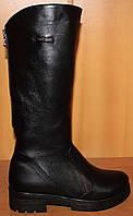 Сапоги женские зимние на маленьком каблучке, зимняя женская обувь от производителя модель НС4