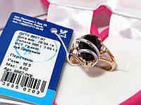 Золотое кольцо с гранатом 9882-ПГР, фото 1