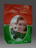 Мешок бумажный для газонной травы, 3 слоя + ламинация внешняя, 4+0, 600х460х140