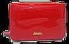 Стильный женский лаковый кошелек BАLISА красного цвета WLA-000812