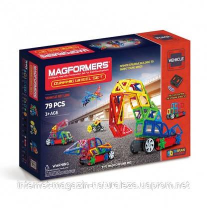 Магнитные конструкторы ТМ Magformers Динамические колеса 79 элементов