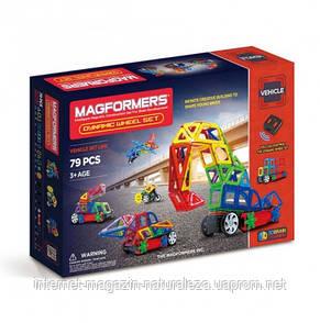 Магнитные конструкторы ТМ Magformers Динамические колеса 79 элементов, фото 2