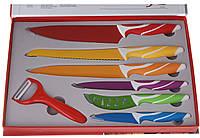 Набор ножей Super Lux с керамическим покритием в коробке (1364)
