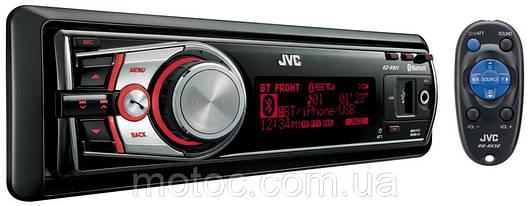 Автомагнитола JVC KD-R901. Встроенный DVD привод, CD, USB, SD, FM