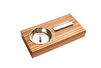 Пепельница для 1-й сигары, Арт.09652, цвет светло-коричневый
