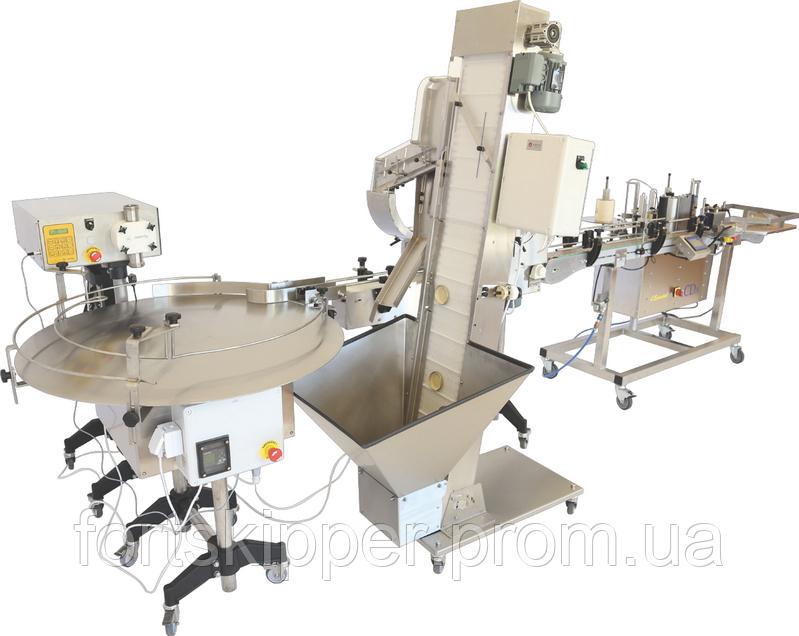 Автоматична лінія упаковки меду 500-650 кг/год Swienty