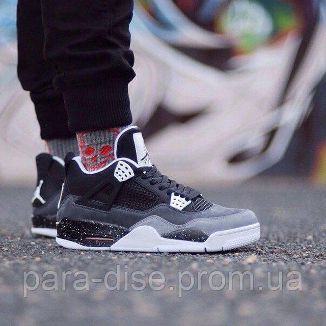 Баскетбольные кроссовки Nike Air Jordan IV Retro Fear Pack Копия - Интернет-магазин  Paradise в 228074e85f7