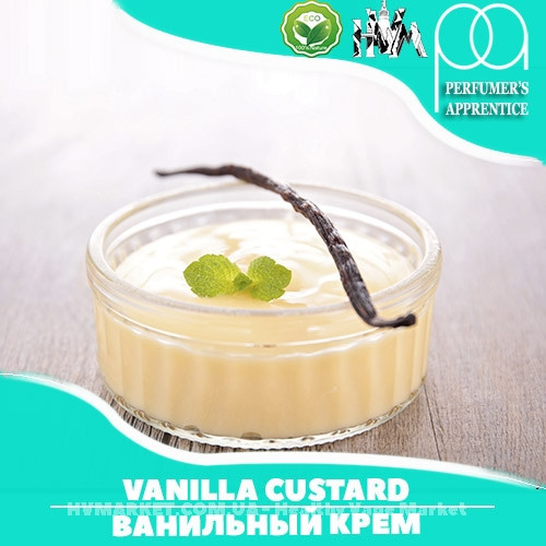 Ароматизатор TPA/TFA Vanilla Custard Flavor (Ванильный заварной крем) 10 мл