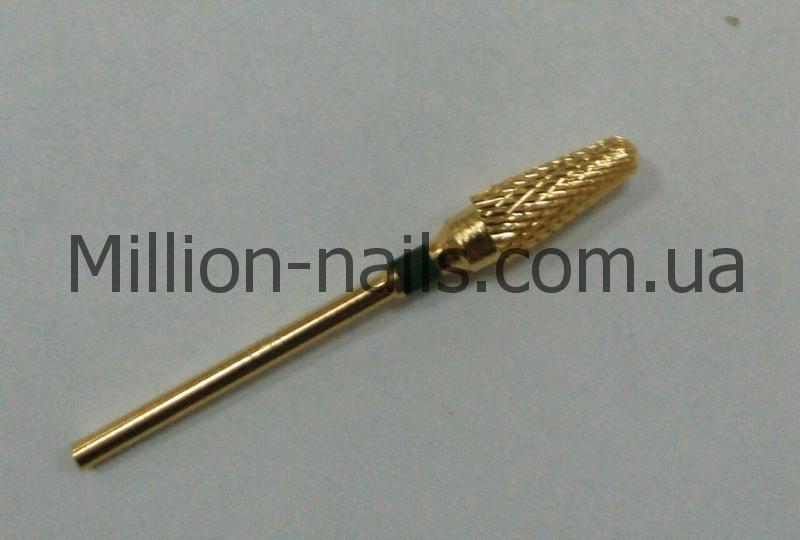 Насадка для фрезера, (кукурузка), цвет золото
