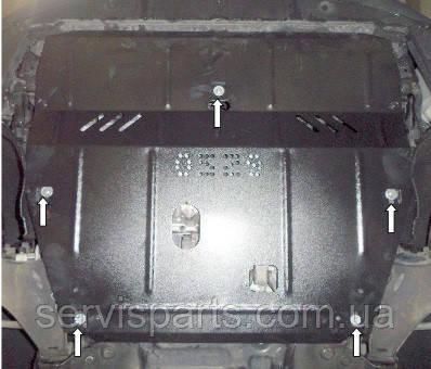 Защита двигателя Volvo XC60 2008- (Вольво)