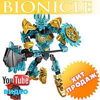 """Конструктор лего бионикл Bionicle KSZ 613-1 Экиму, Создатель Масок (аналог Lego) """"Биохимический робот"""" 94 дет"""