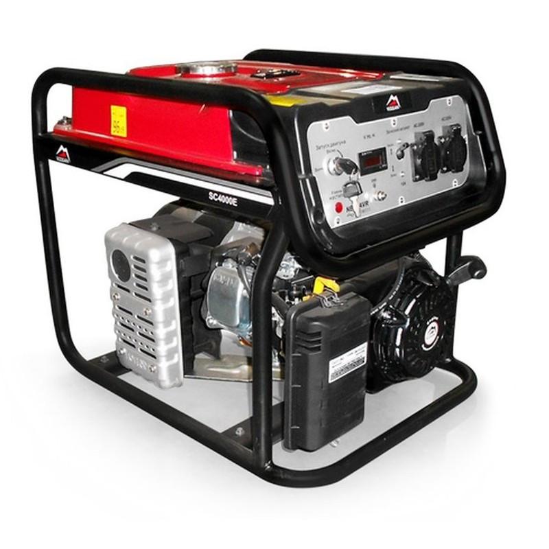 Генератор бензиновый Vulkan SC4000E-II (3,8кВт)