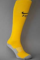 Футбольные гетры Барселона, Nike, Найк, желтые, 1719
