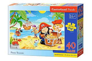 Пазли maxi Піратський скарб Castorland 40 деталей
