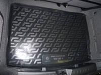 Коврик багажника (корыто)-полиуретановый, черный Volkswagen golf V plus (фольксваген гольф 5 плюс 2004-2008)