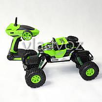 Джип на радио управлении машинка внедорожник модель Bone Rock Crawler зелёный 1:16, фото 2